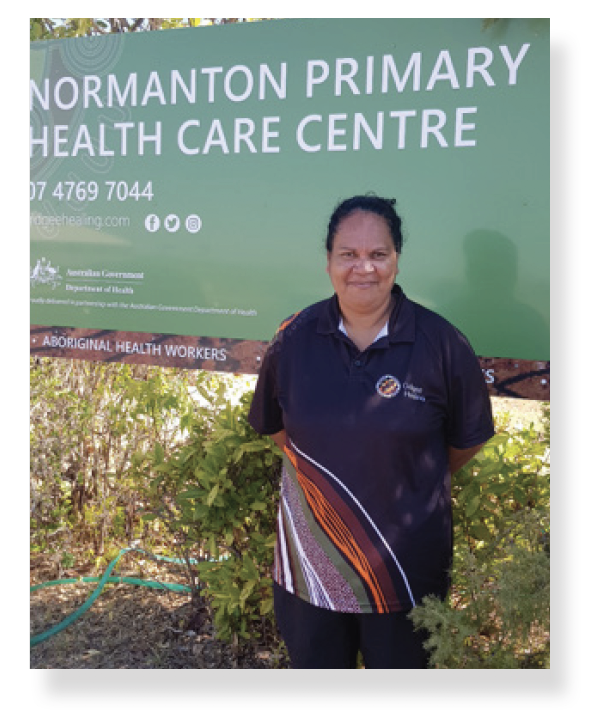 Josephine Bond, Senior Aboriginal Health Worker