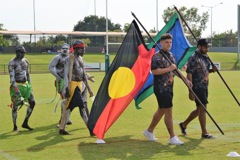 deadly cup carnival -flag bearers