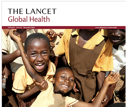 lancet global health report cover