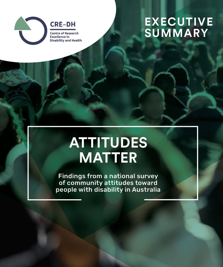 Executive Summary of Attitudes Matter Report