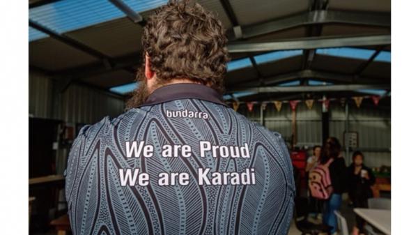 tshirt with karadi slogan