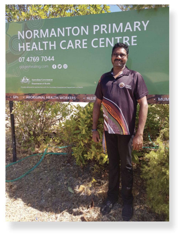 Gareth Casey, Aboriginal Trainee Health Worker