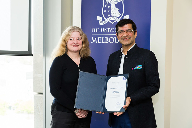 Prof Julie Simpson and Prof Shitij Kapur