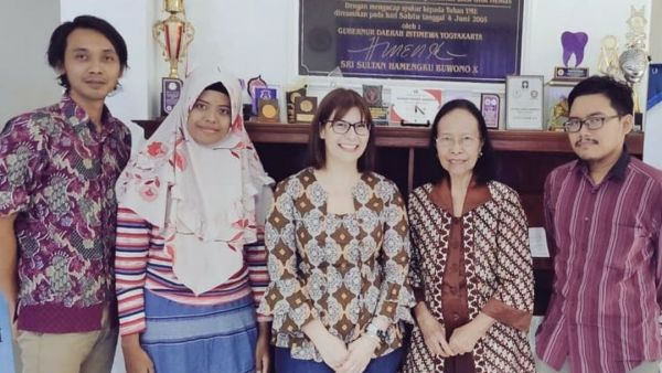 Meeting with stakeholders from the Indonesian Cancer Foundation, Yogyakarta Province Branch