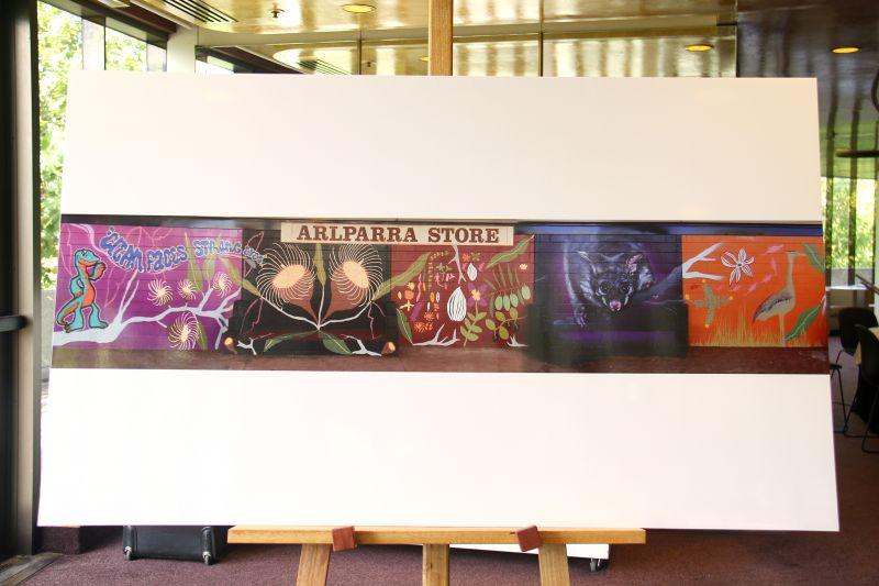 Mural 3. Arlparra