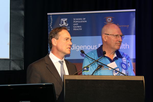 day 1 greg hunt and hugh