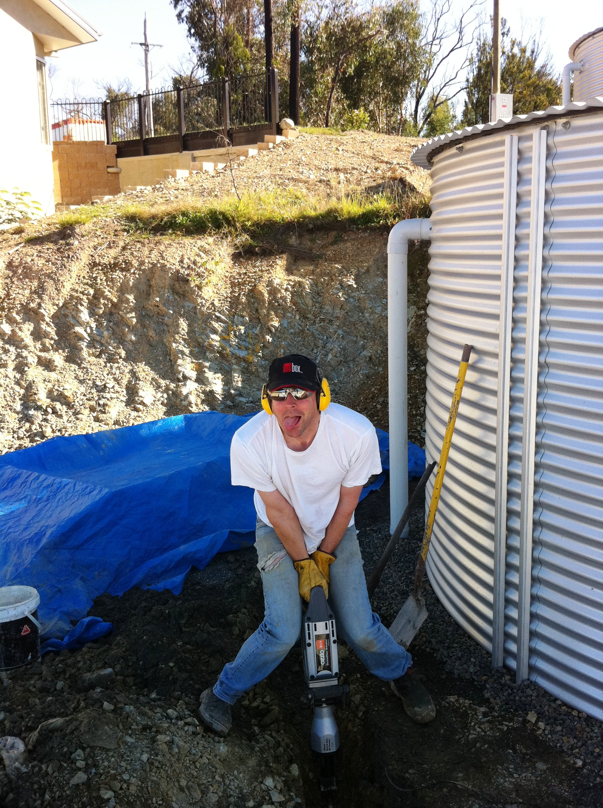 Drainage work for New Home in Christmas Hills