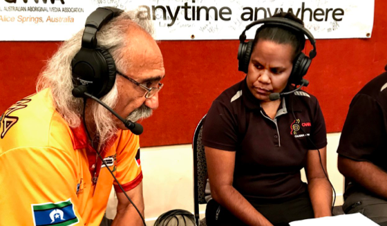 Trevor Buzzacoot CAAMA interview