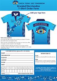 Tshirt order form