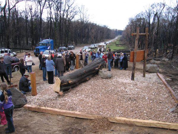 Clonbinane Memorial Park Opening