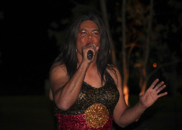 constantina bush performing