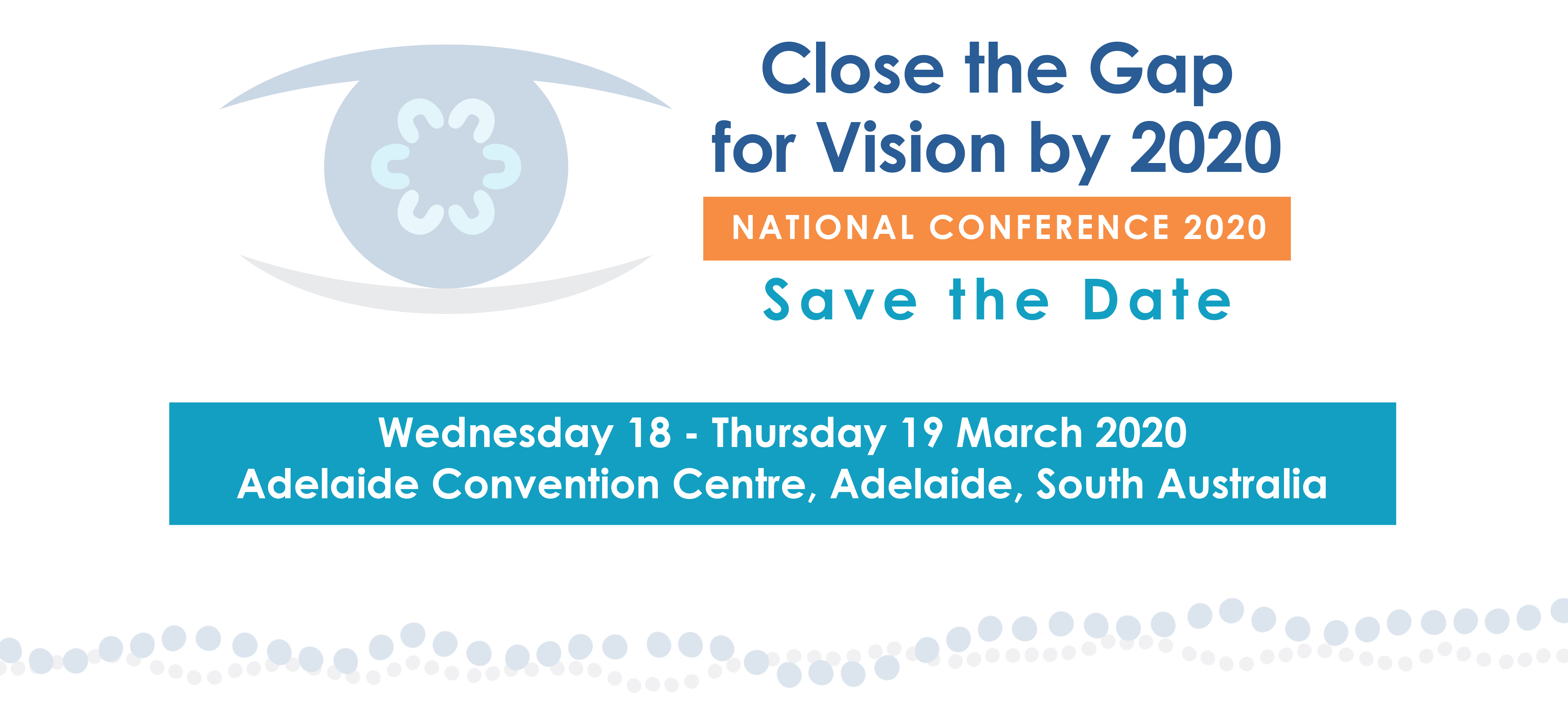 save the date flyer for 2020 conference