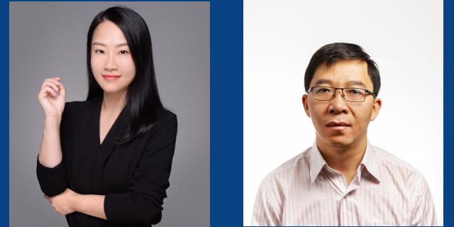 Dr Daisy Dai and Dr Minh Bui